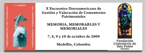 programa X Encuentro Iberoamericano de cementerios