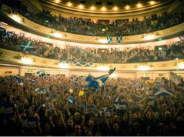 """Imatge del concert """"A Night for Scotland"""" celebrat ahir"""