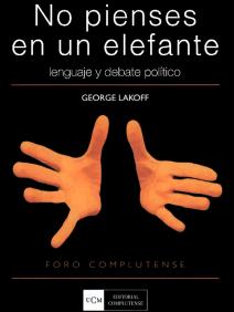 Portada de la traducción española del libro de George Lakoff
