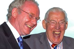 L'afabilitat entre Martin MacGuinness i Ian Paisley