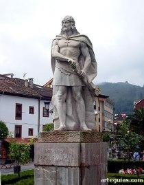 Estàtua de Don Pelayo a Cangas de Onís