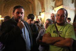 Oriol Junqueras y David Fernández