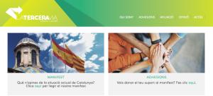 La Tercera Vía, nova plataforma unionista en l'òrbita del PSC i UDC / FOTO: laterceravia.cat