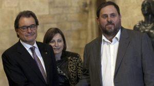 MAS ANUNCIA UN PACTO CON ERC PARA CELEBRAR ELECCIONES El 27 DE SEPTIEMBRE DE 2015