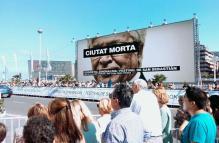 Cartel de presentación en el Festival de San Sebastián