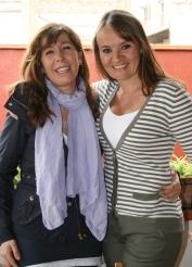 Sánchez-Camacho con Eva García