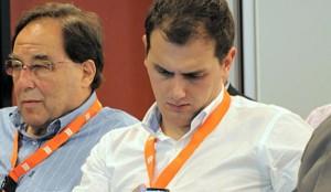 Francesc de Carreras junto a Albert Rivera