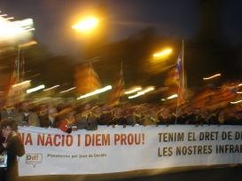 Capçalera manifestació 2007