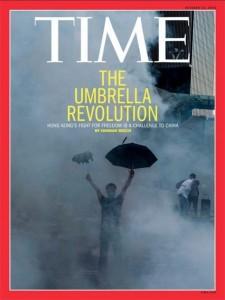 La protesta dels estudiants als carrers de Hong Kong a la portada de
