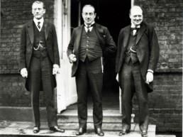 Chamberlain, Baldwin y Churchill