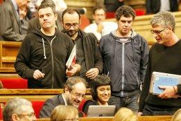 Barcelona.  Segona votació del ple del Parlament per investir Artur Mas com a president de la Generalitat  519#Andreu Puig