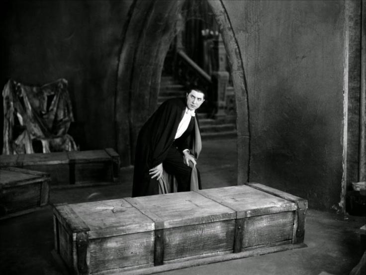 Escena de Drácula. Tod Browning 1931 2