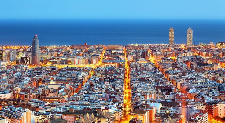 barcelona-aerial-view