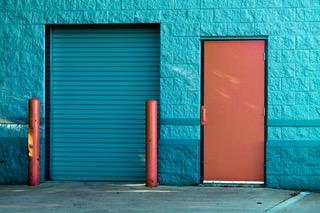 blue-bricks-door-845242